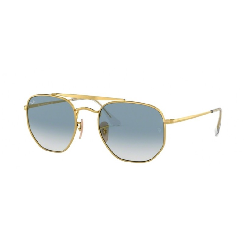 RAY-BAN RB 3648 001/3F 54 THE MARSHAL