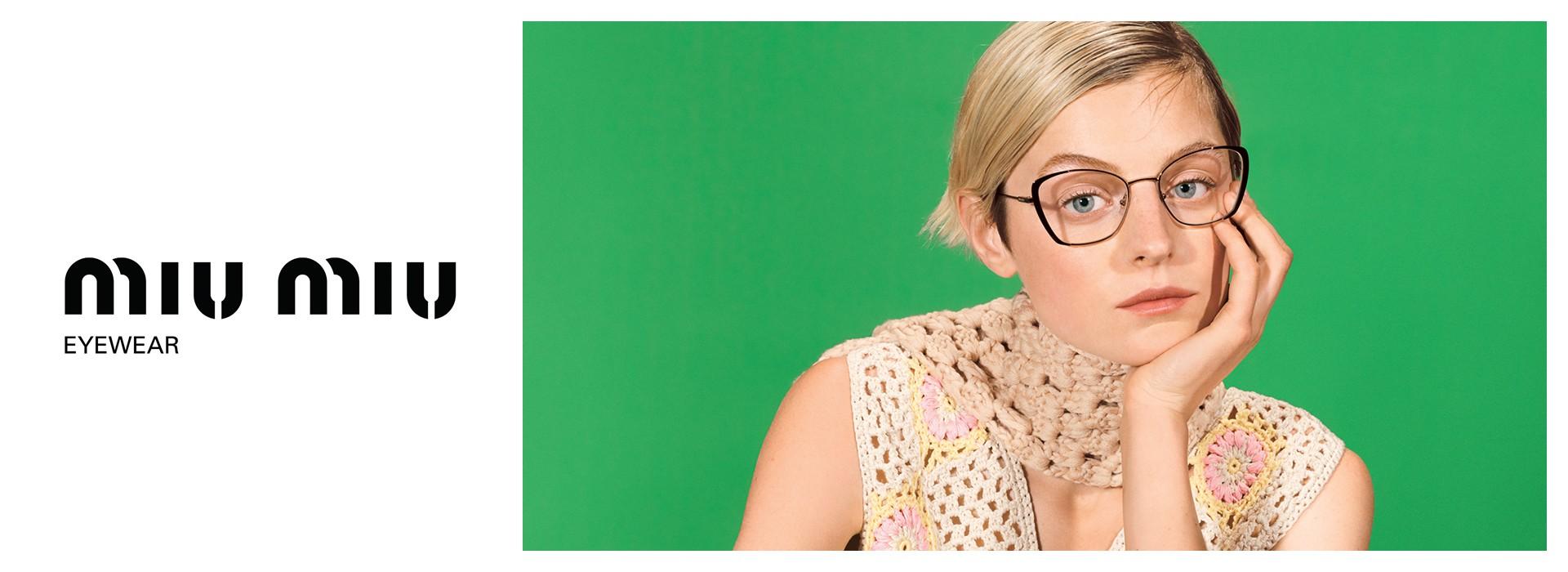 Okulary marki Miu Miu