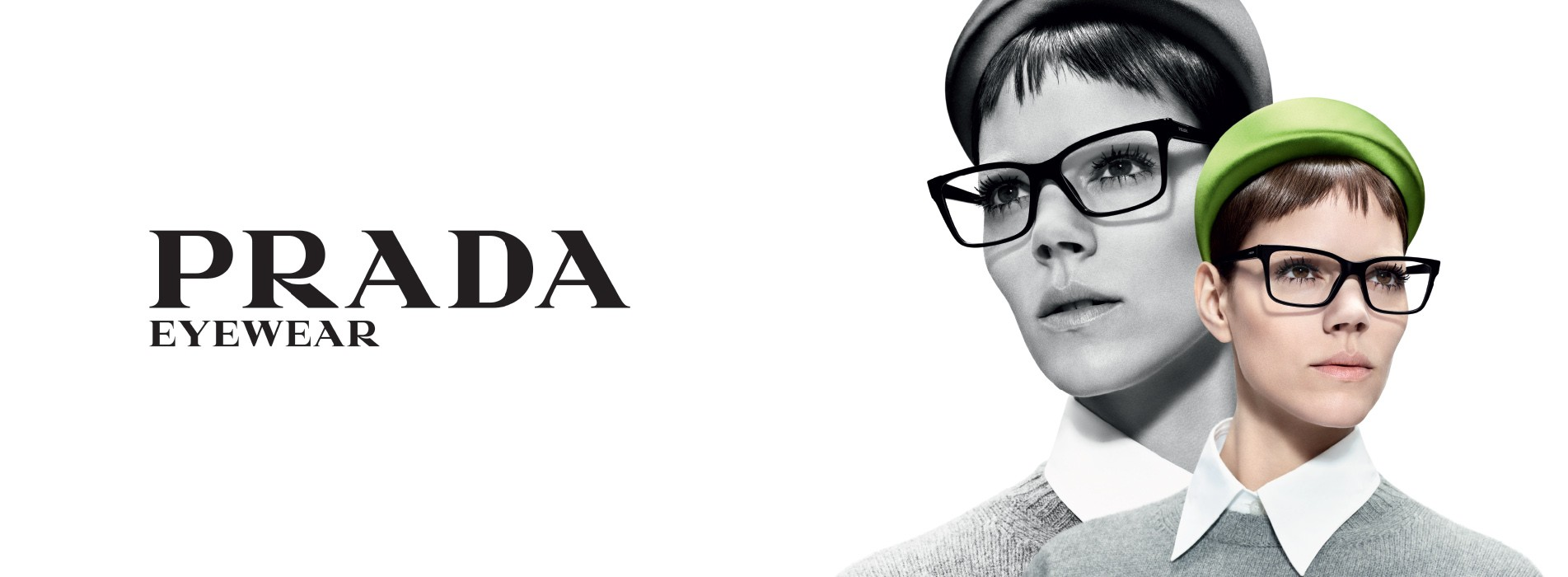 Okulary marki Prada