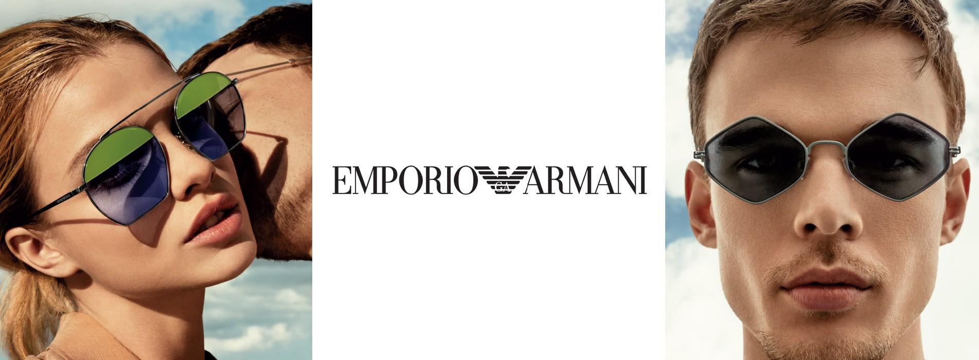 Okulary marki Emporio Armani