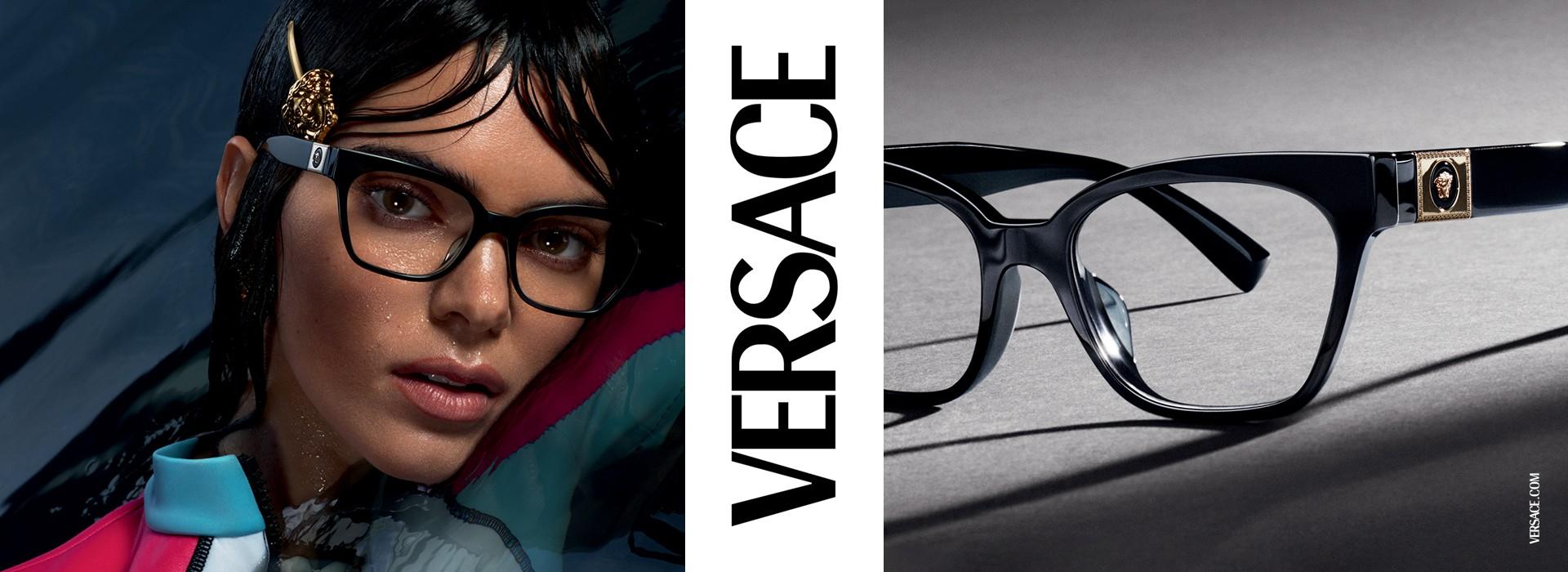 Okulary marki Versace